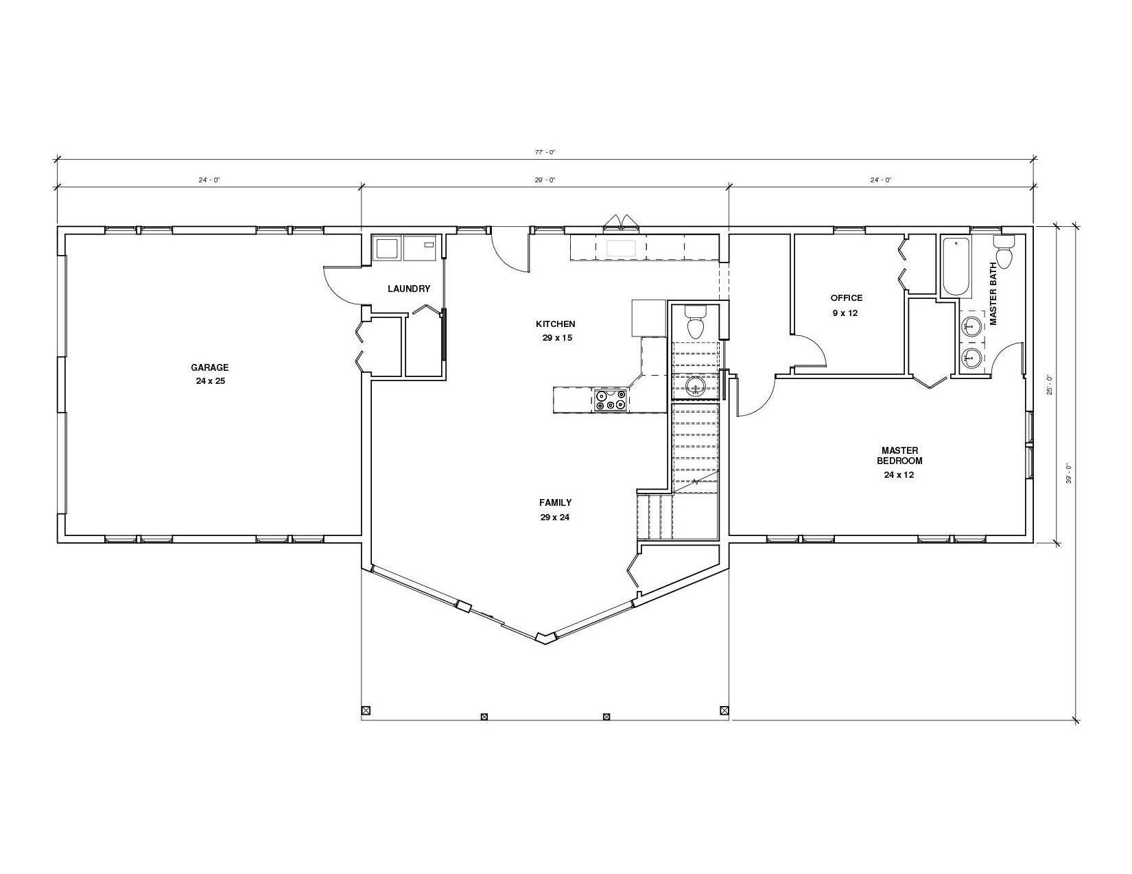 Aspen 1A 1st Floor1 Floor plan