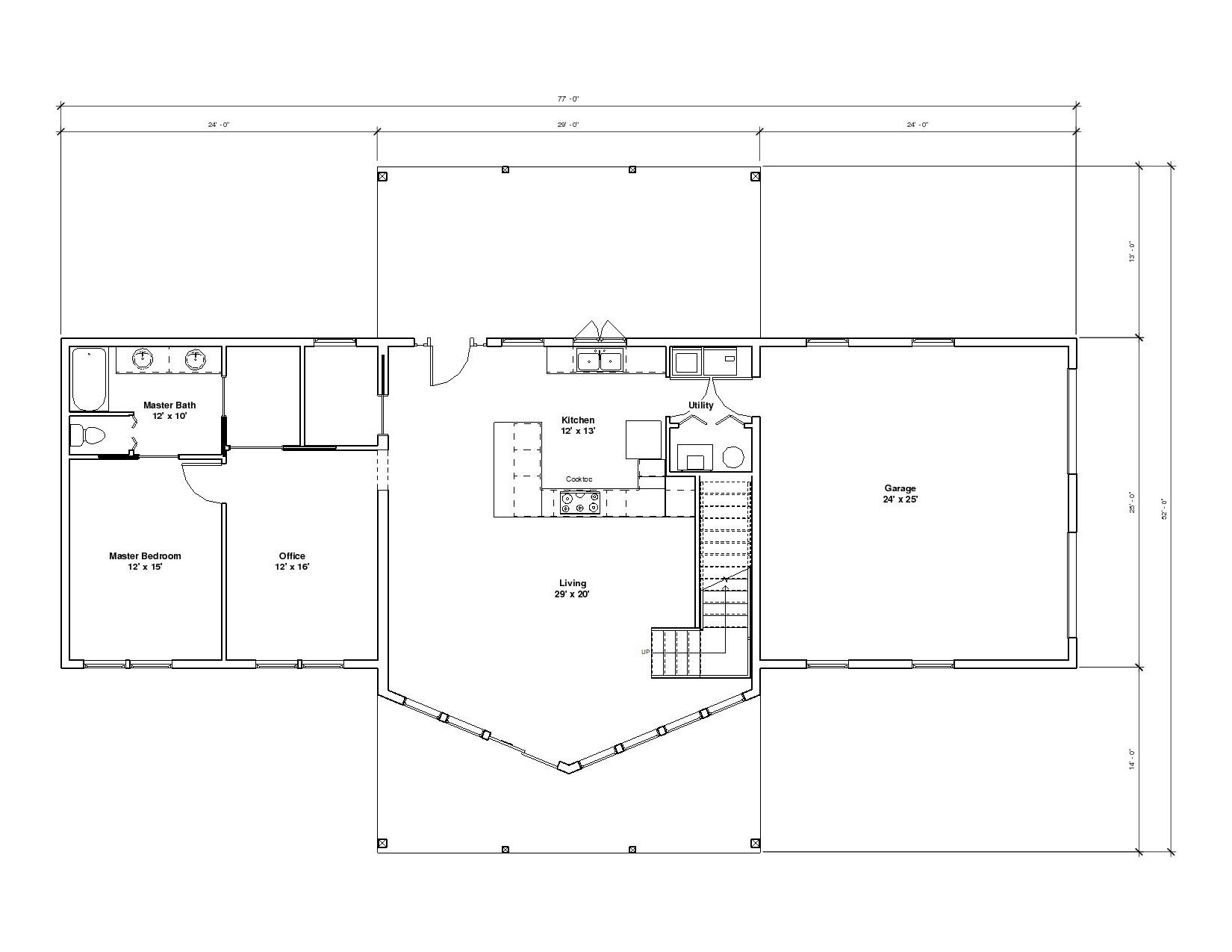 Aspen 2A 1st Floor1 plan