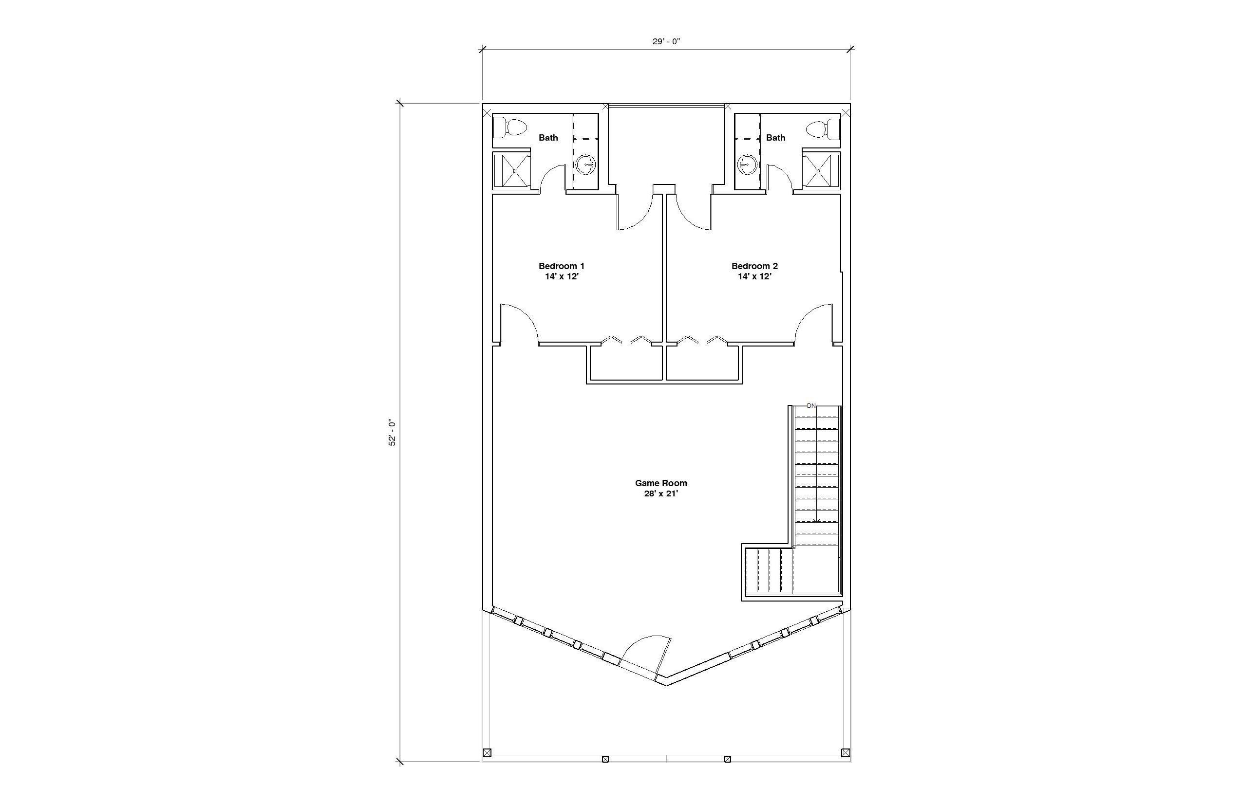 Aspen 2A 2nd Floor plan