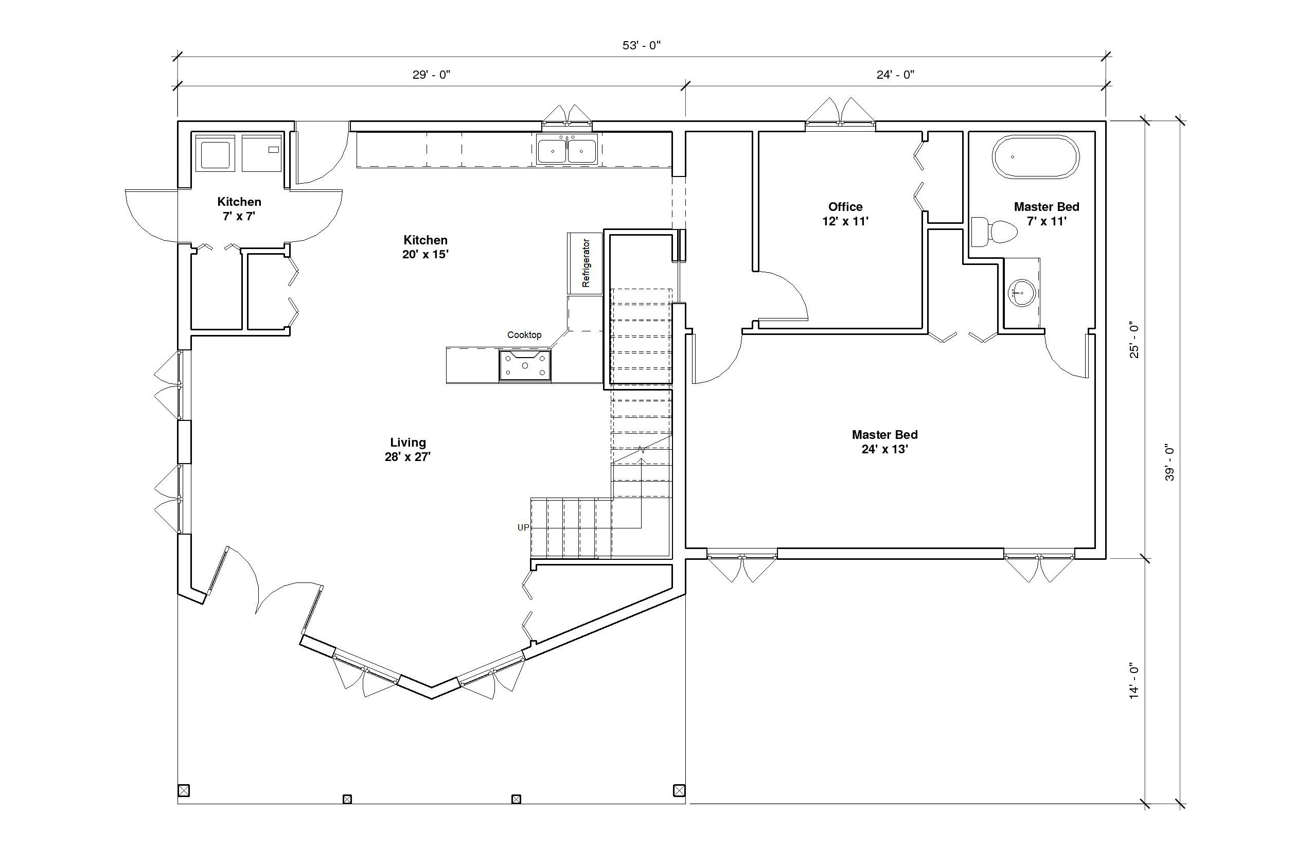 Aspen 3A 1st Floor plan