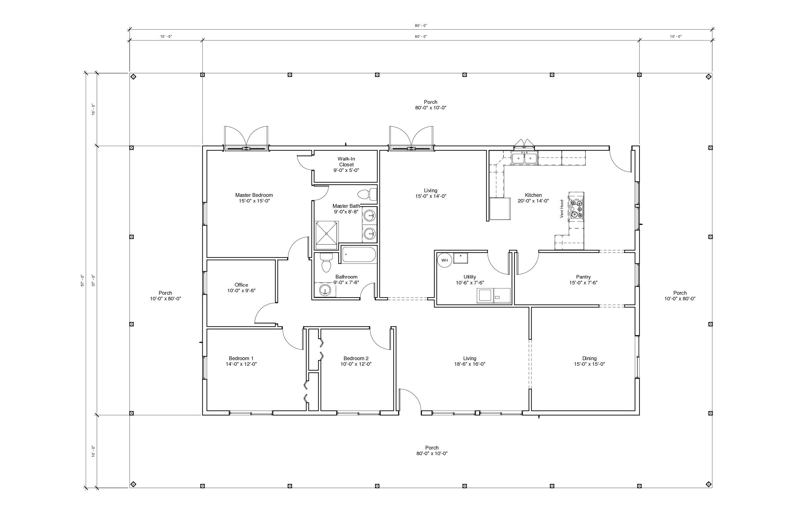 Augusta 1a floor plan