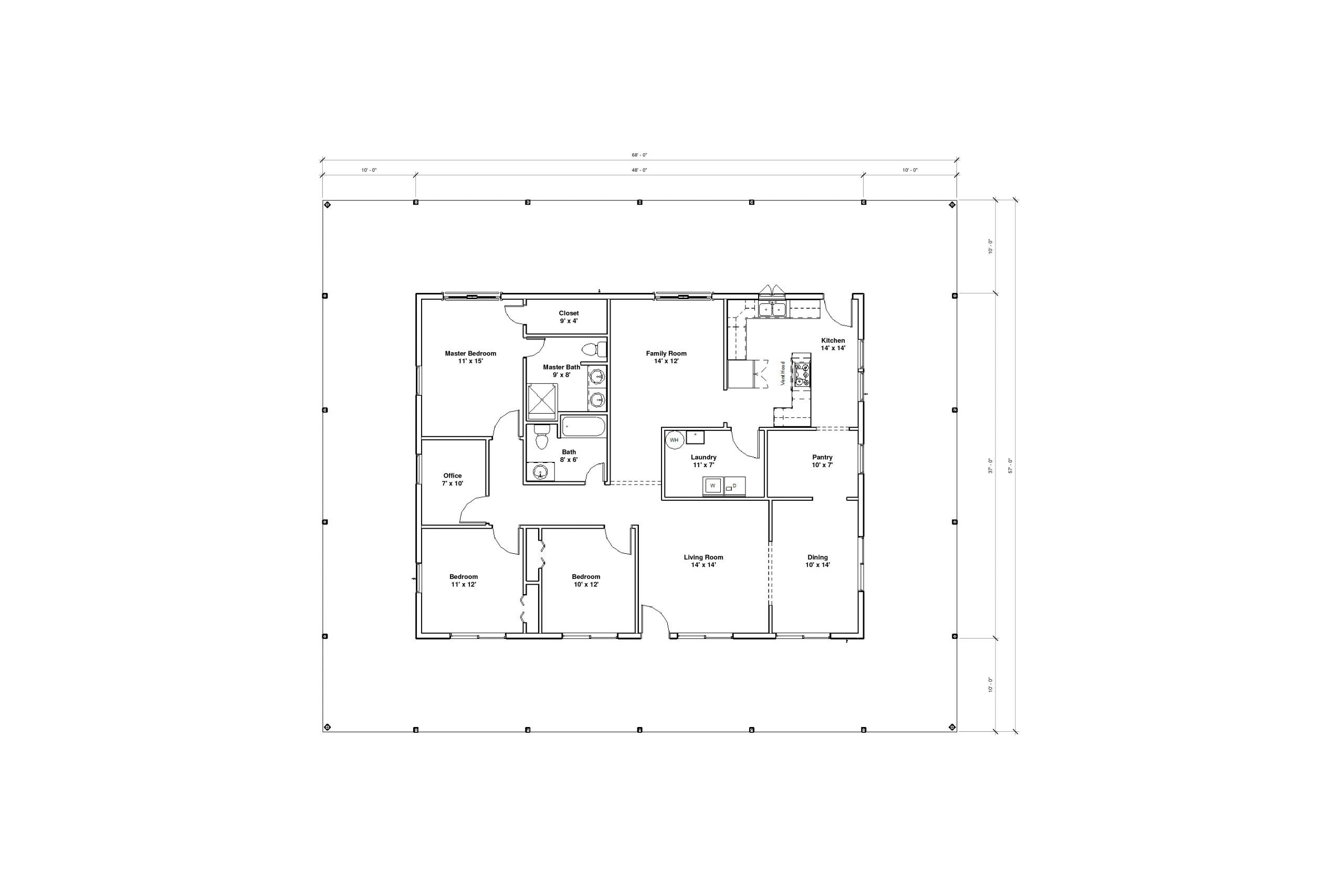Augusta 2A floor plan
