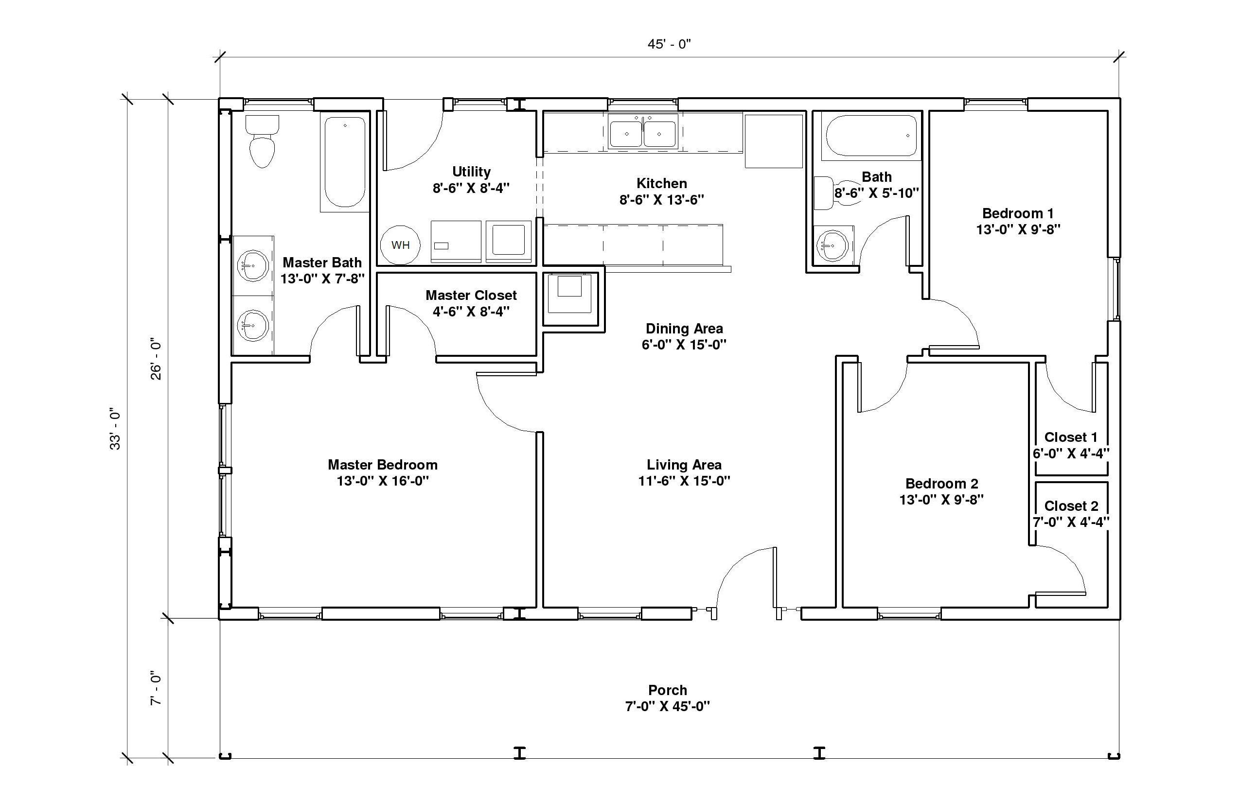 Autumn View 1A floor plan
