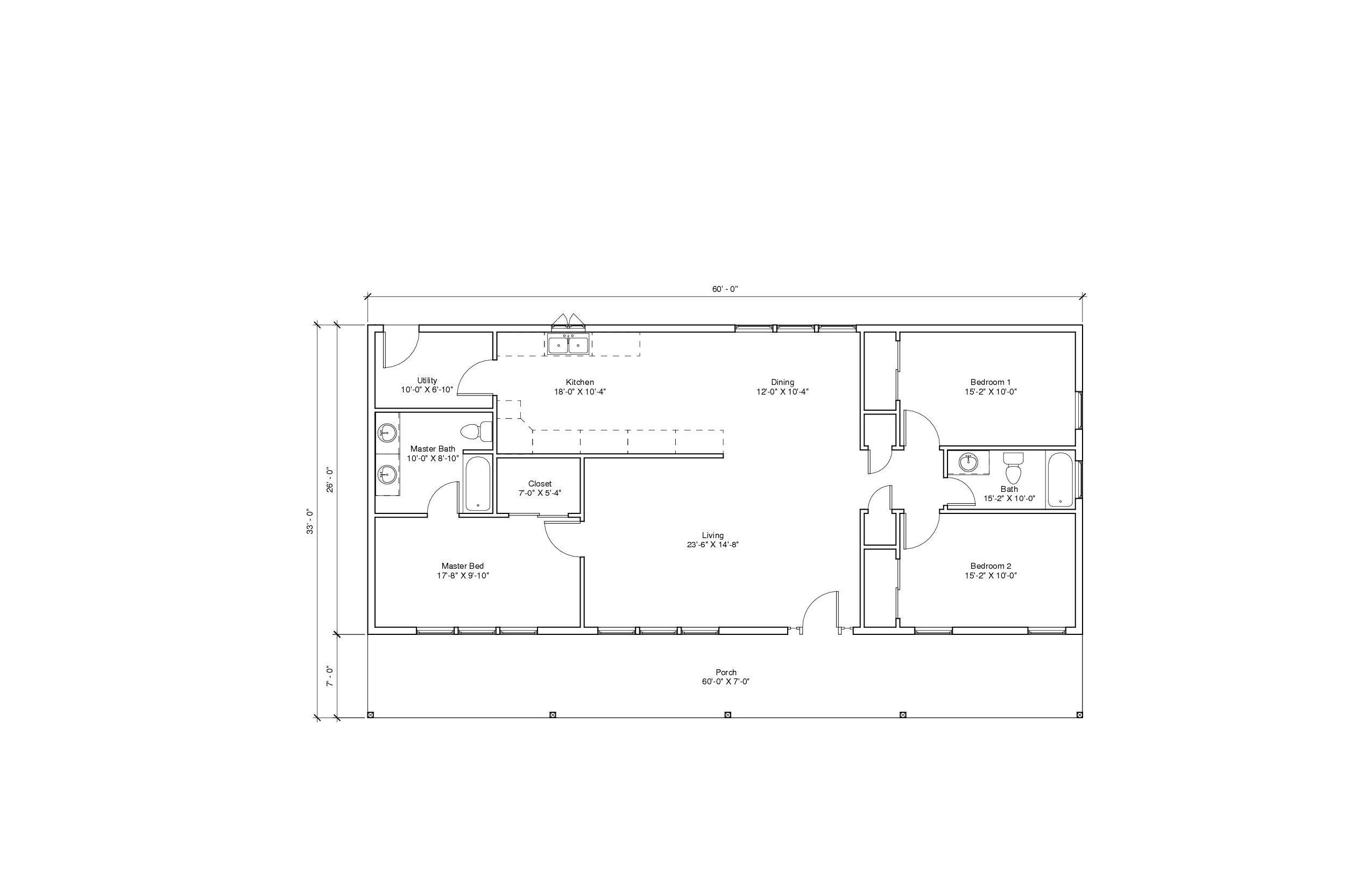 Autumn View 2A floor plan