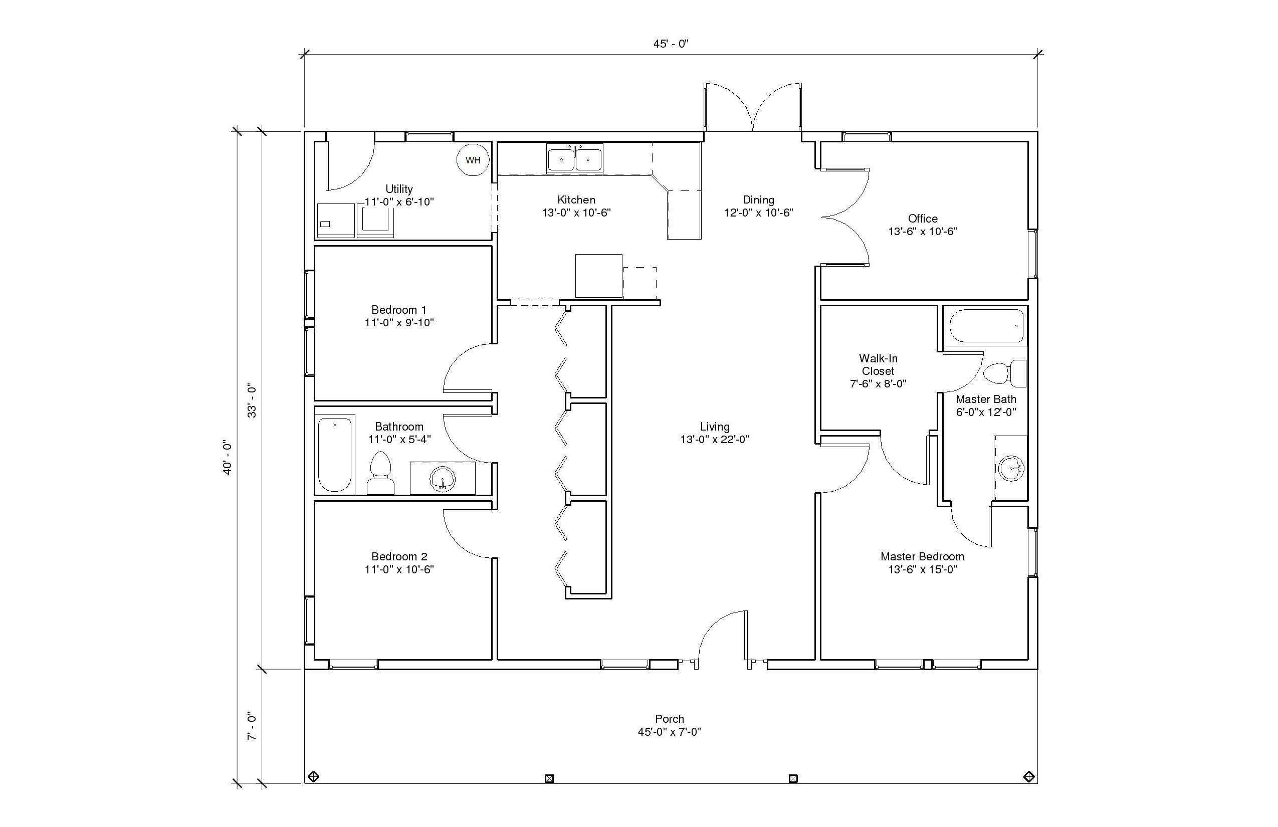 Autumn View 3A floor plan