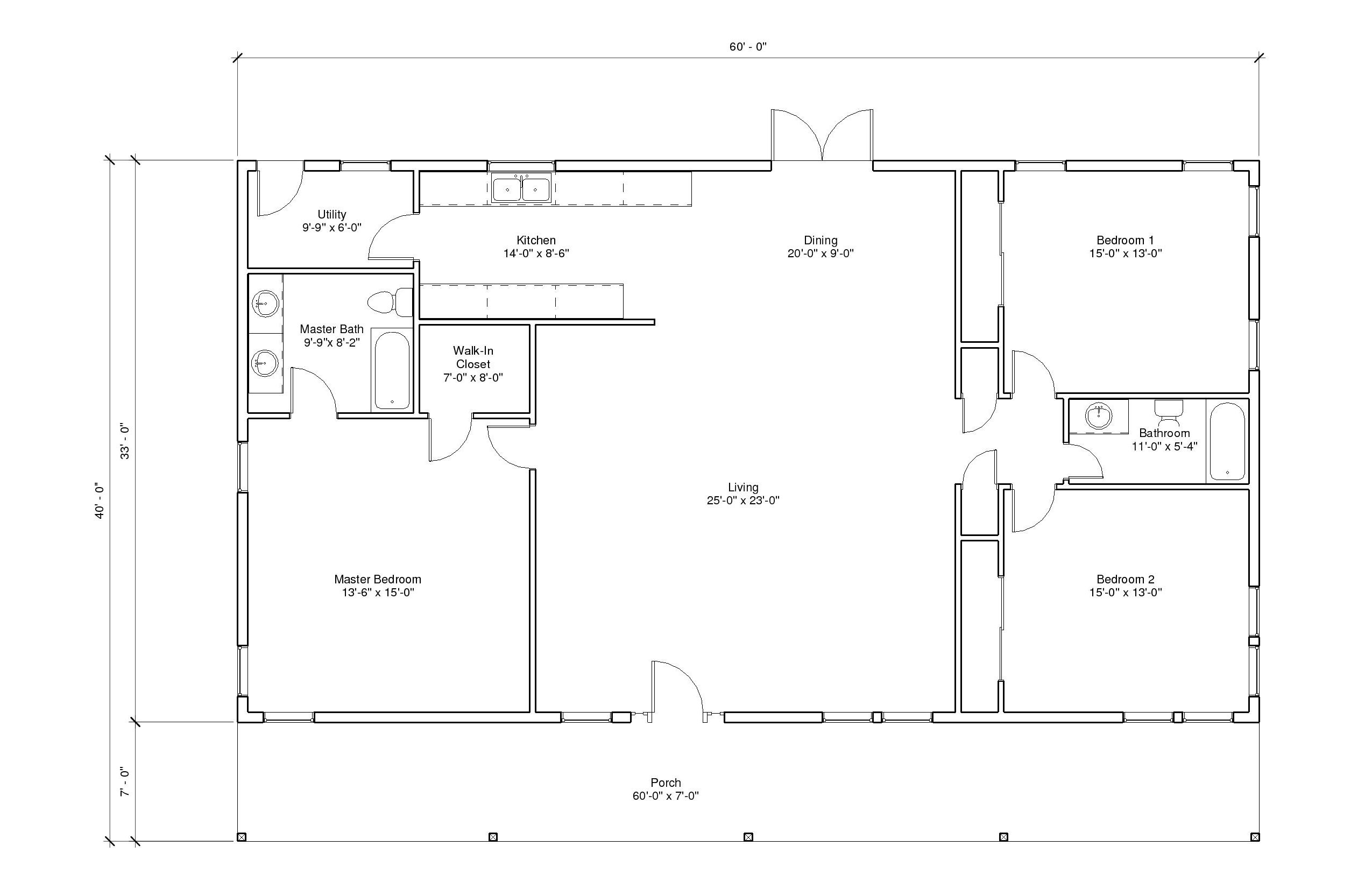 Autumn View 4A floorplan