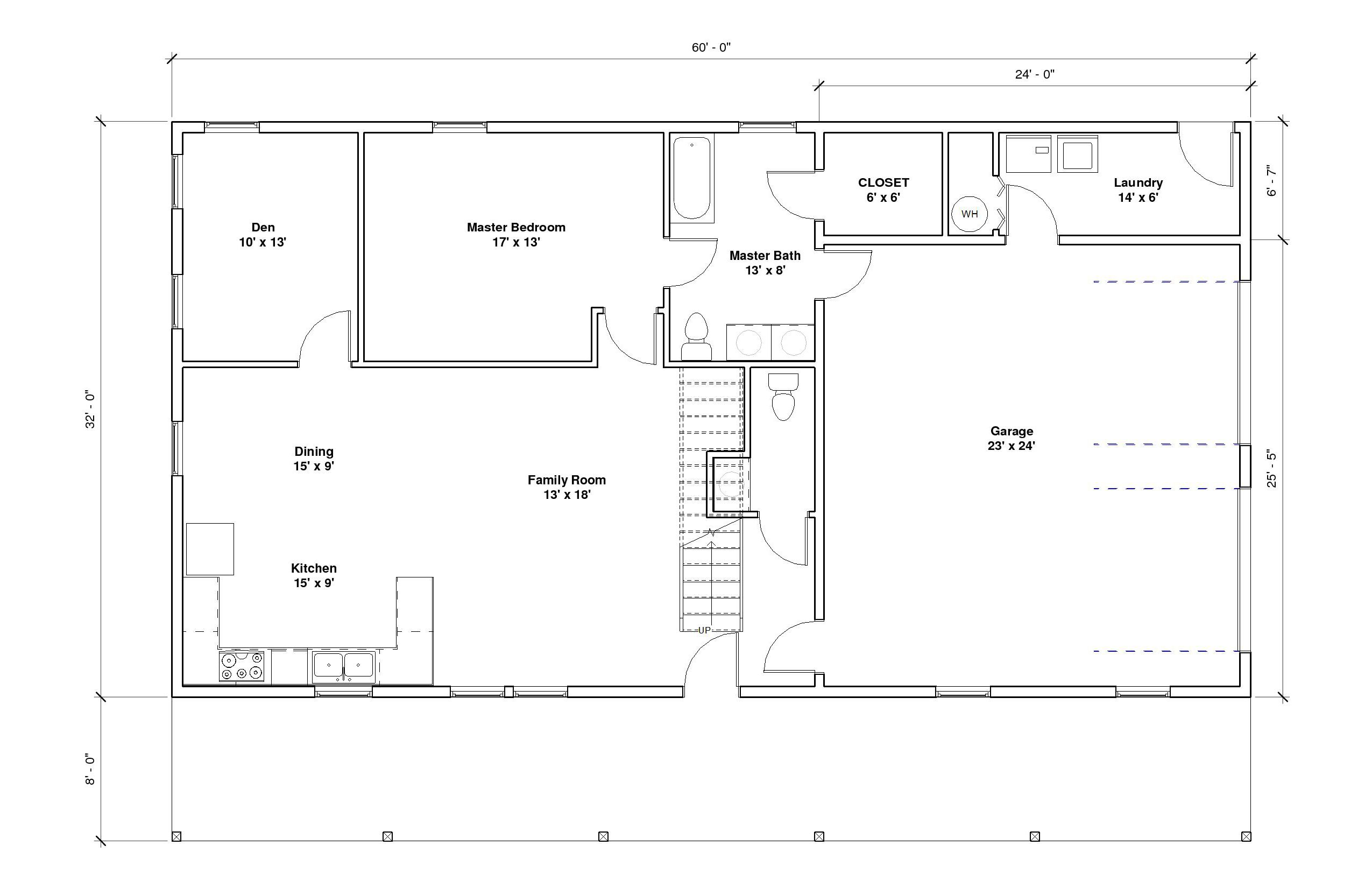 Crestwood 2A 1st Floor Plan