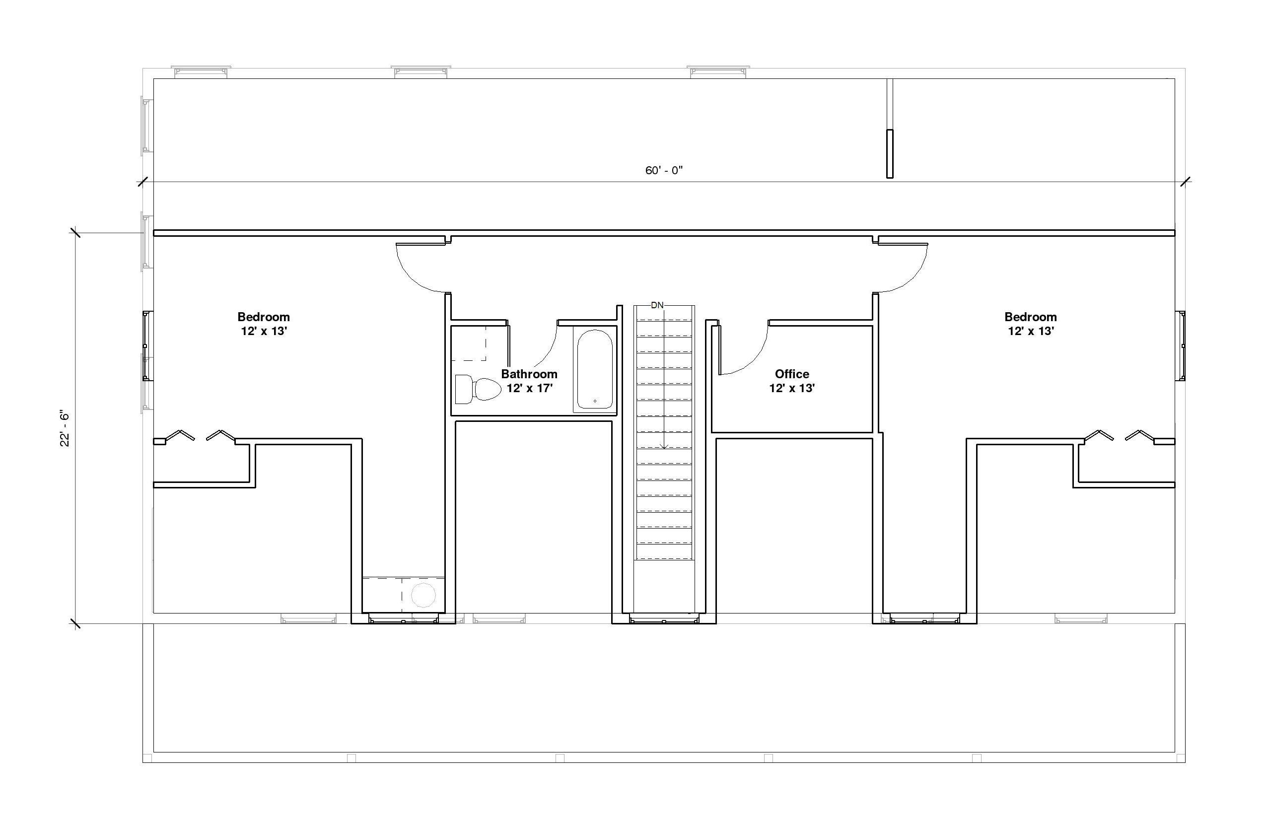 Crestwood 2A 2nd Floor Plan