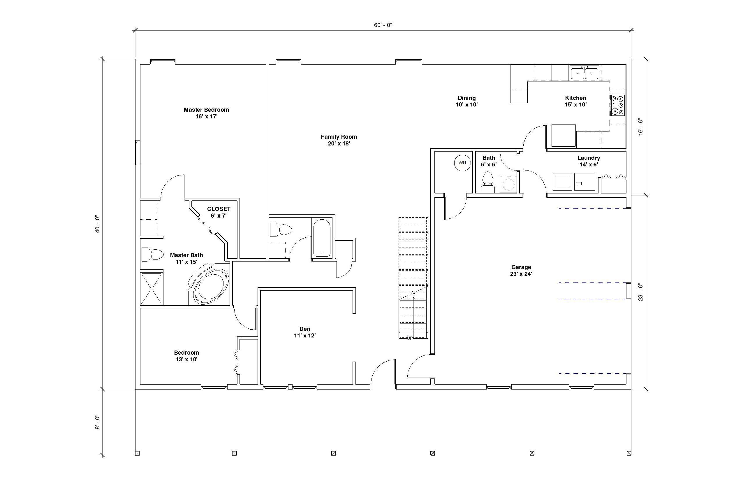 Crestwood 4A 1st Floor Plan