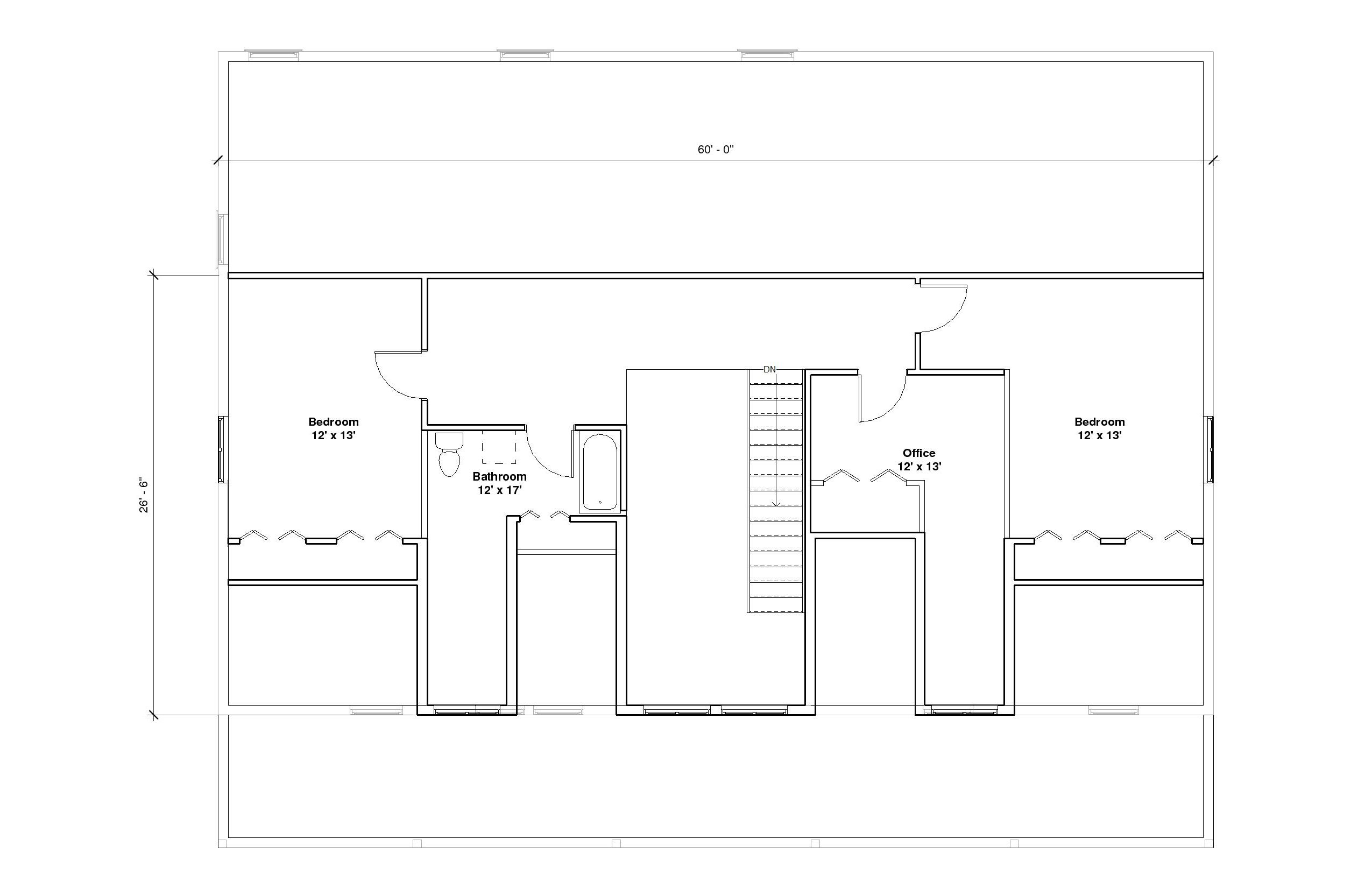 Crestwood 4A 2nd Floor Plan