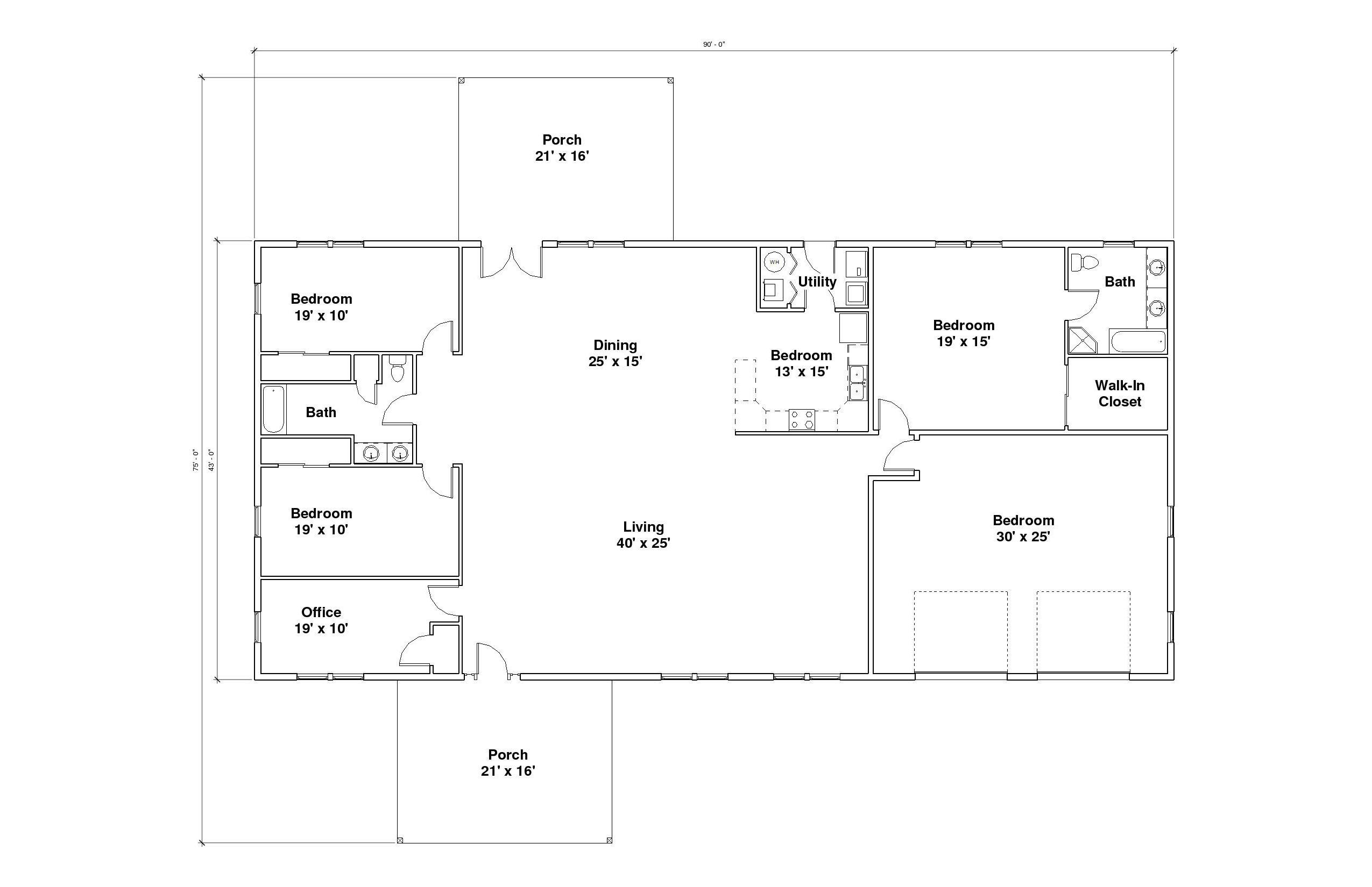 Cumberland A Floor Plan
