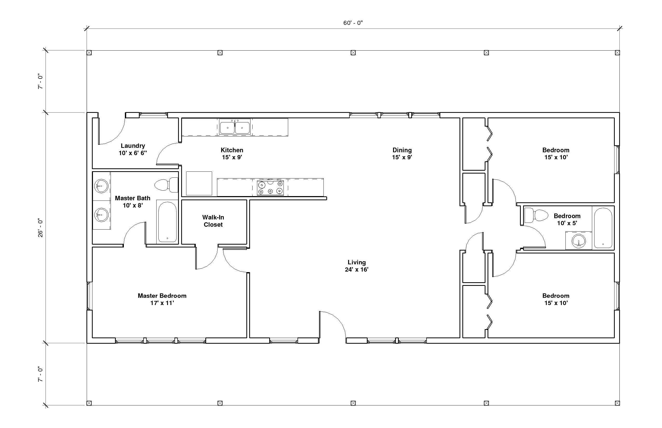 Hillcrest 2A Floor PLan