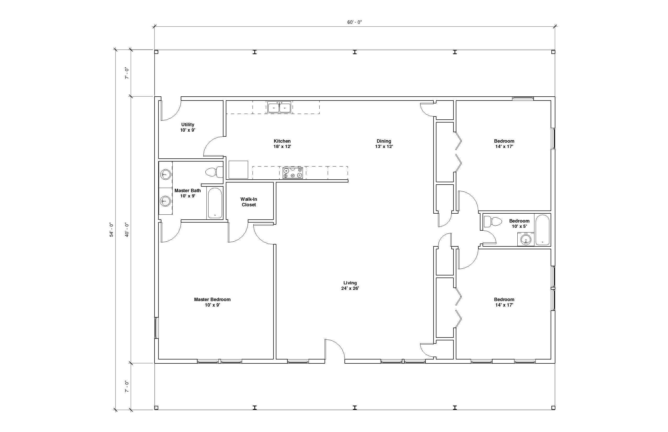 Hillcrest 6A FLoor Plan