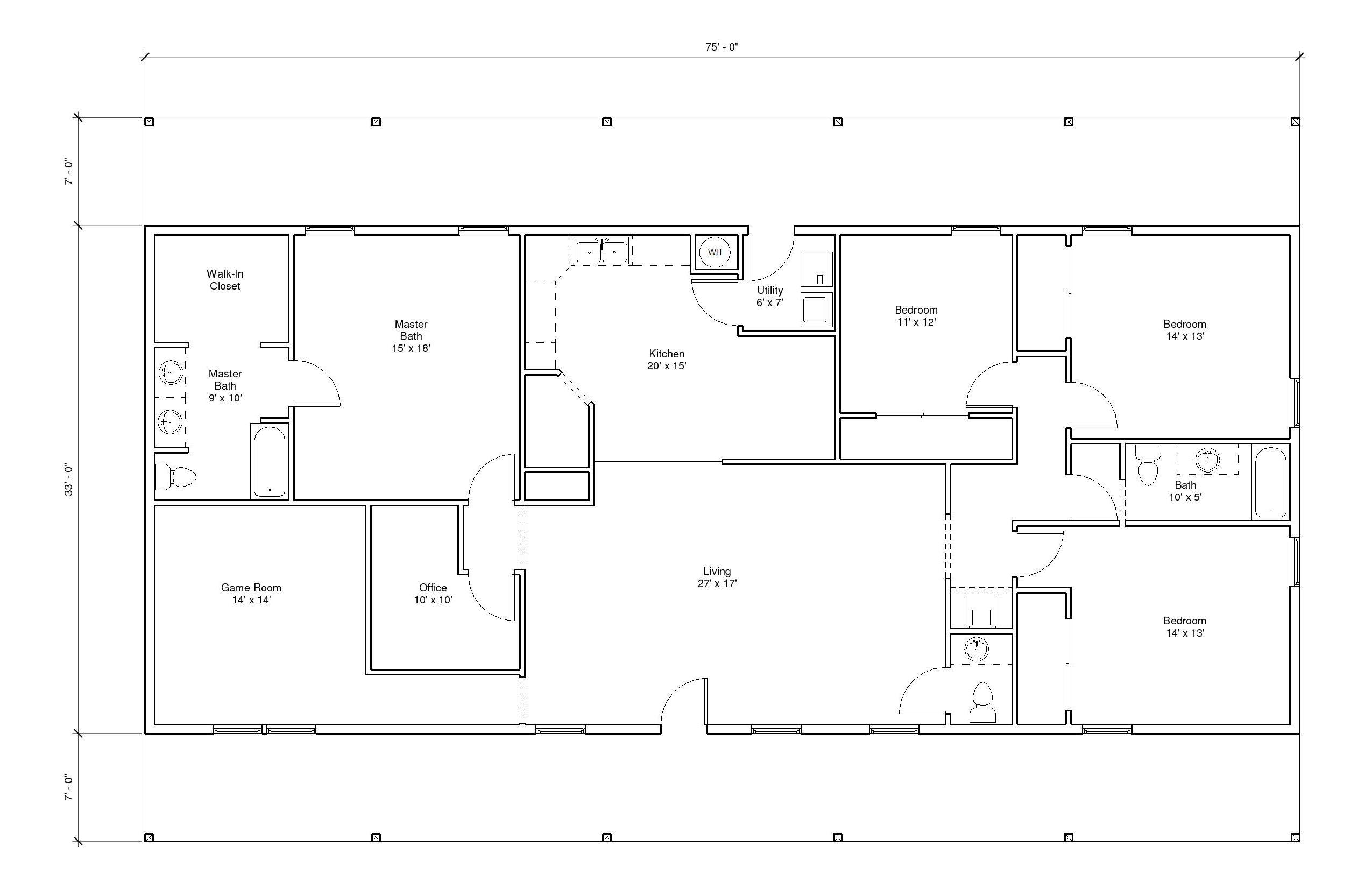 Hillcrest 7A Floor Plan