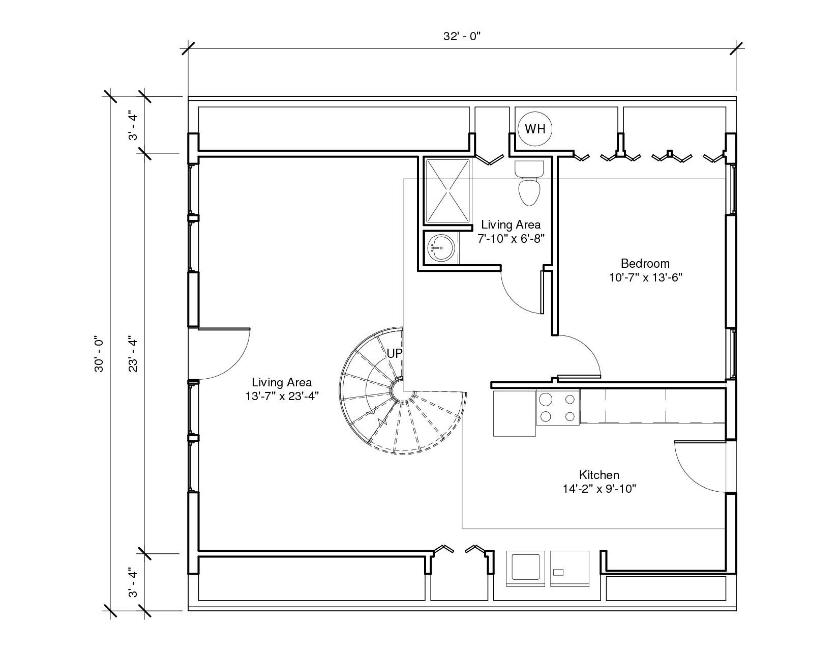 Lakeside 3A 1st Floor1 Plan