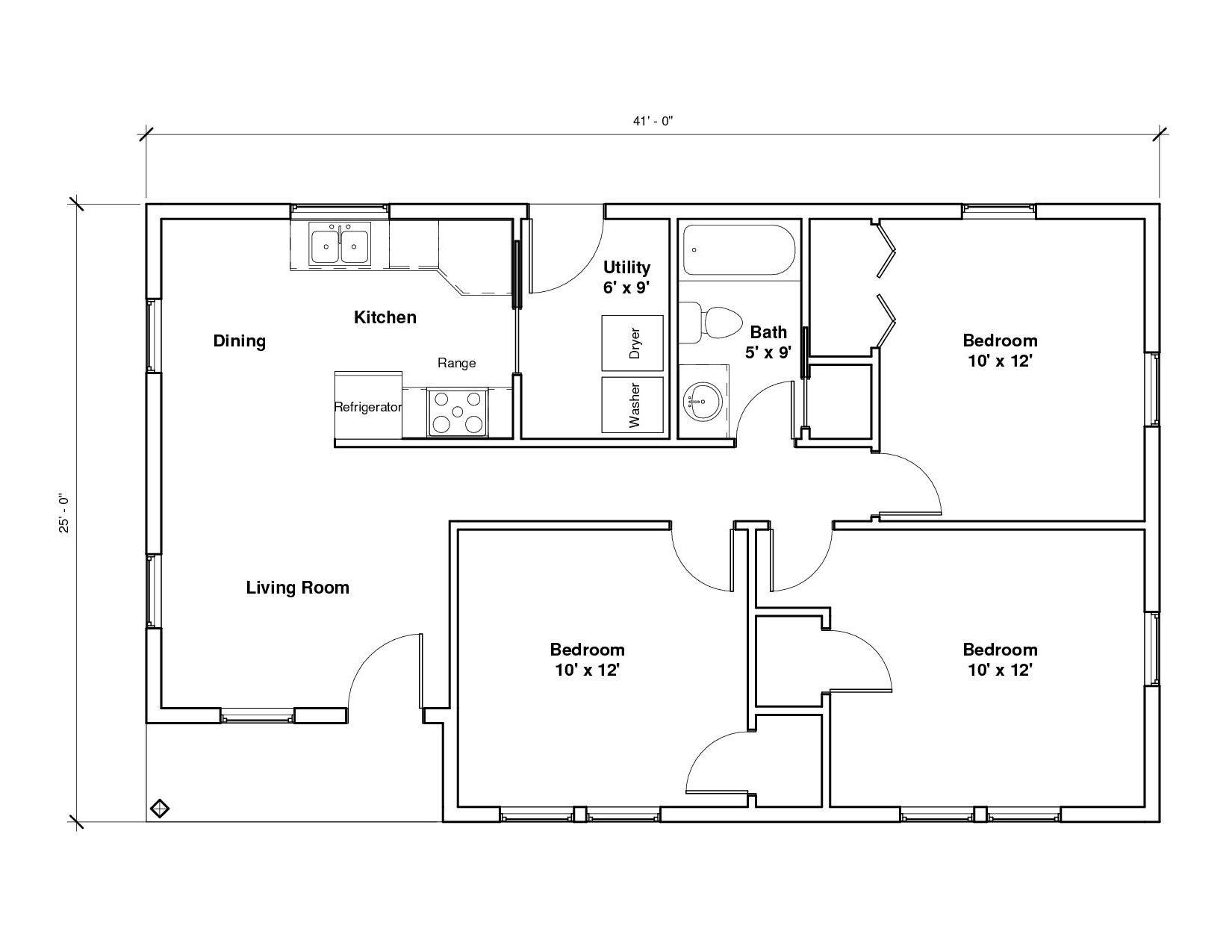 Lancaster A1 Floor Plan
