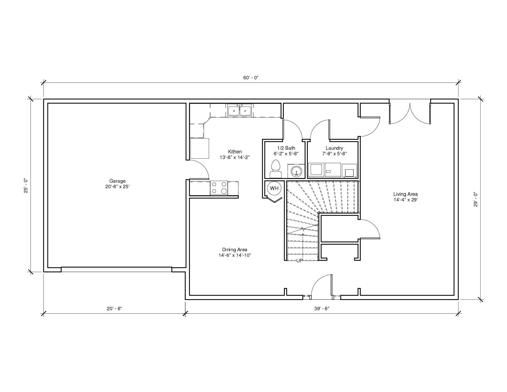 Leabrook1A 1st Floor Plan