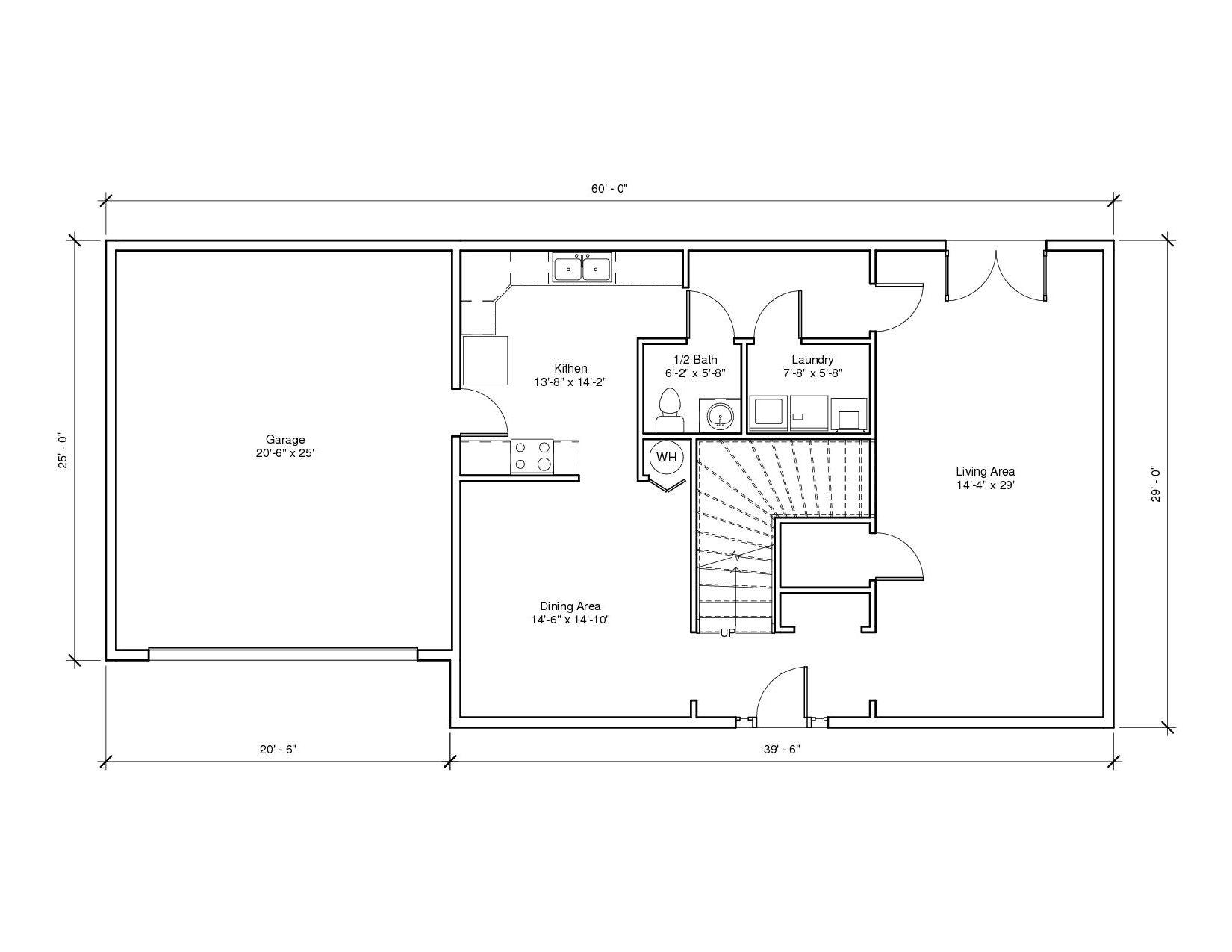 Leabrook1A 1st Floor Plan