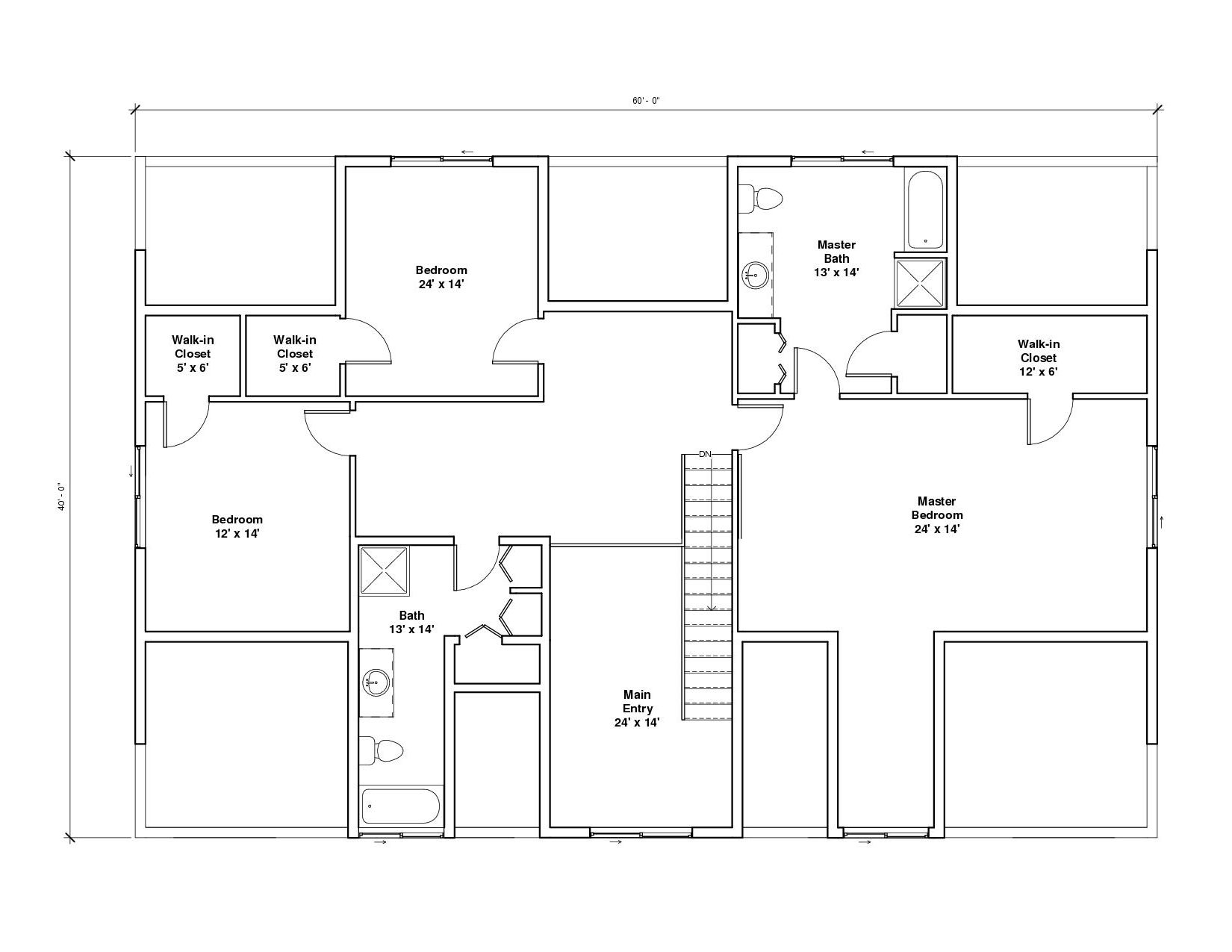 Meadowbrook A 2nd Floor Plan