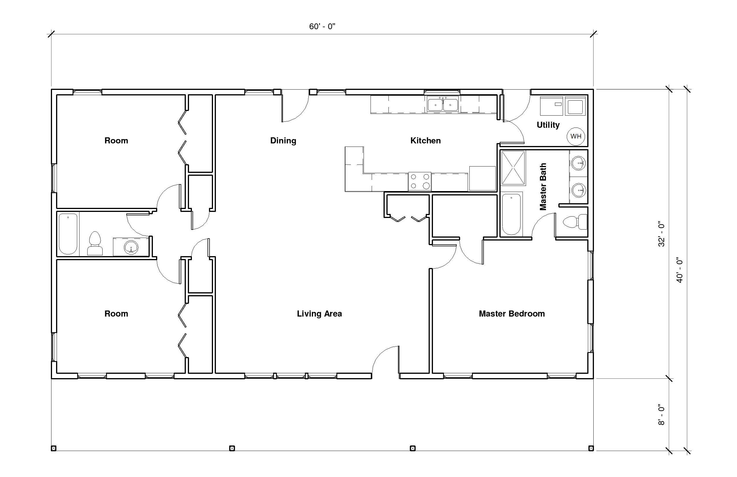 Northbrook A Floor Plan