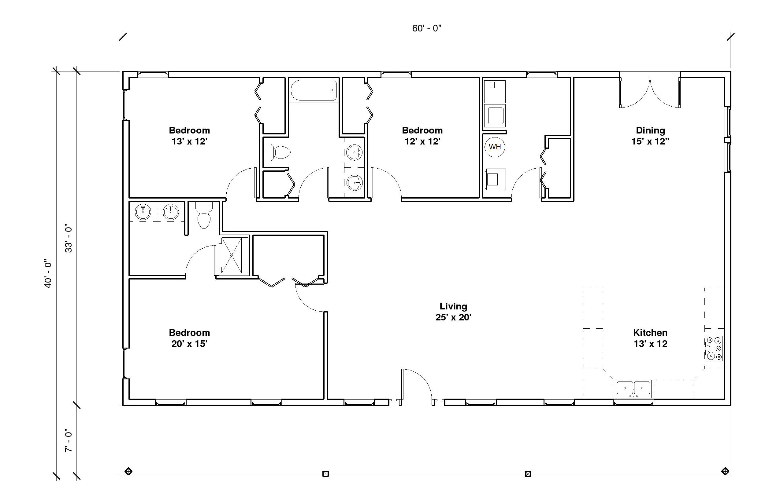 Pinecrest A Floor Plan