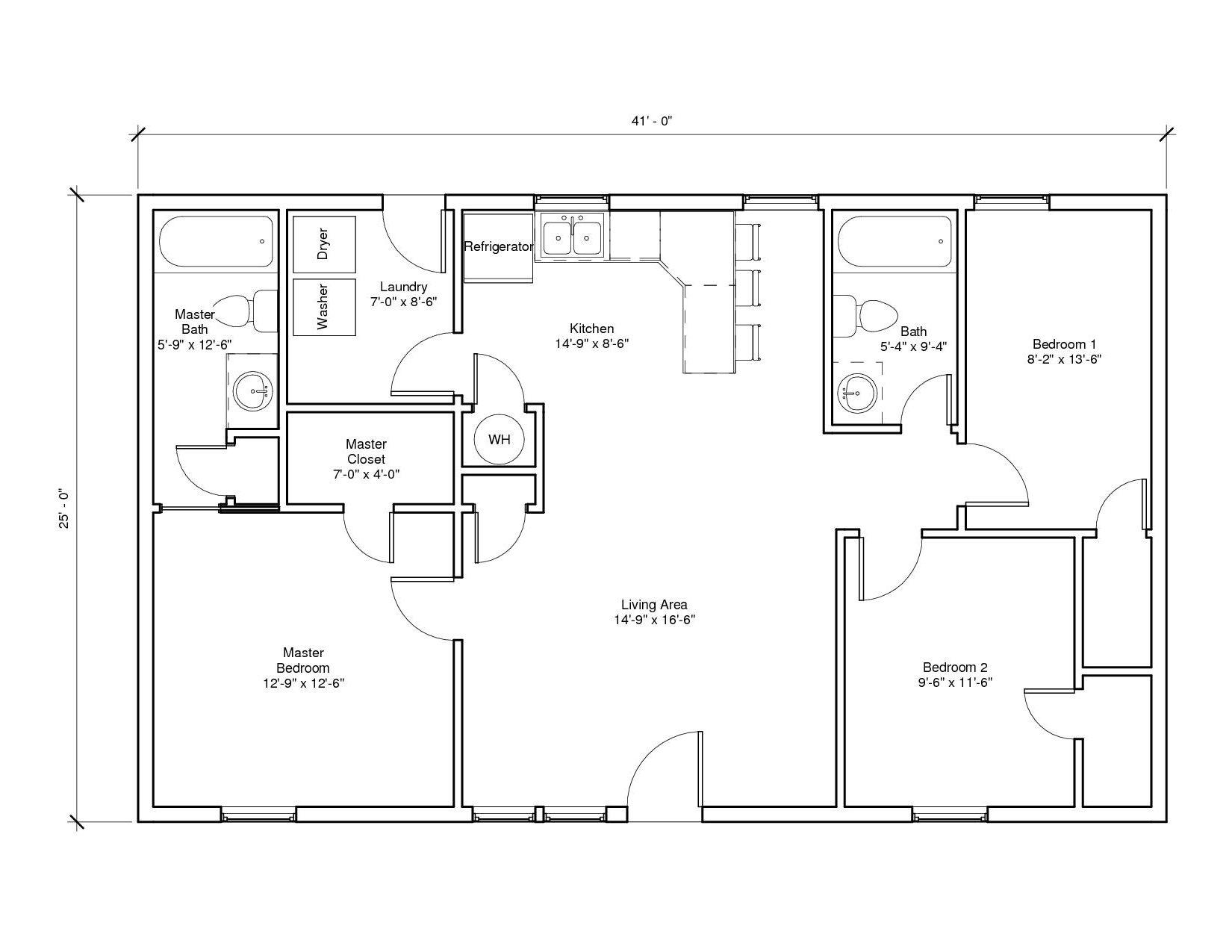 Rosemont A Floor Plan
