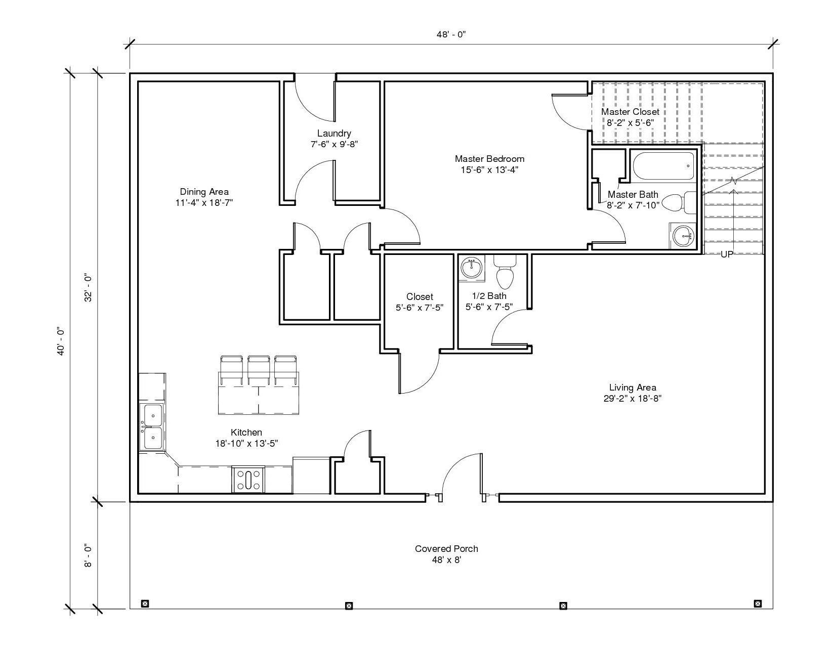 Savannah 1A 1st Floor Plan