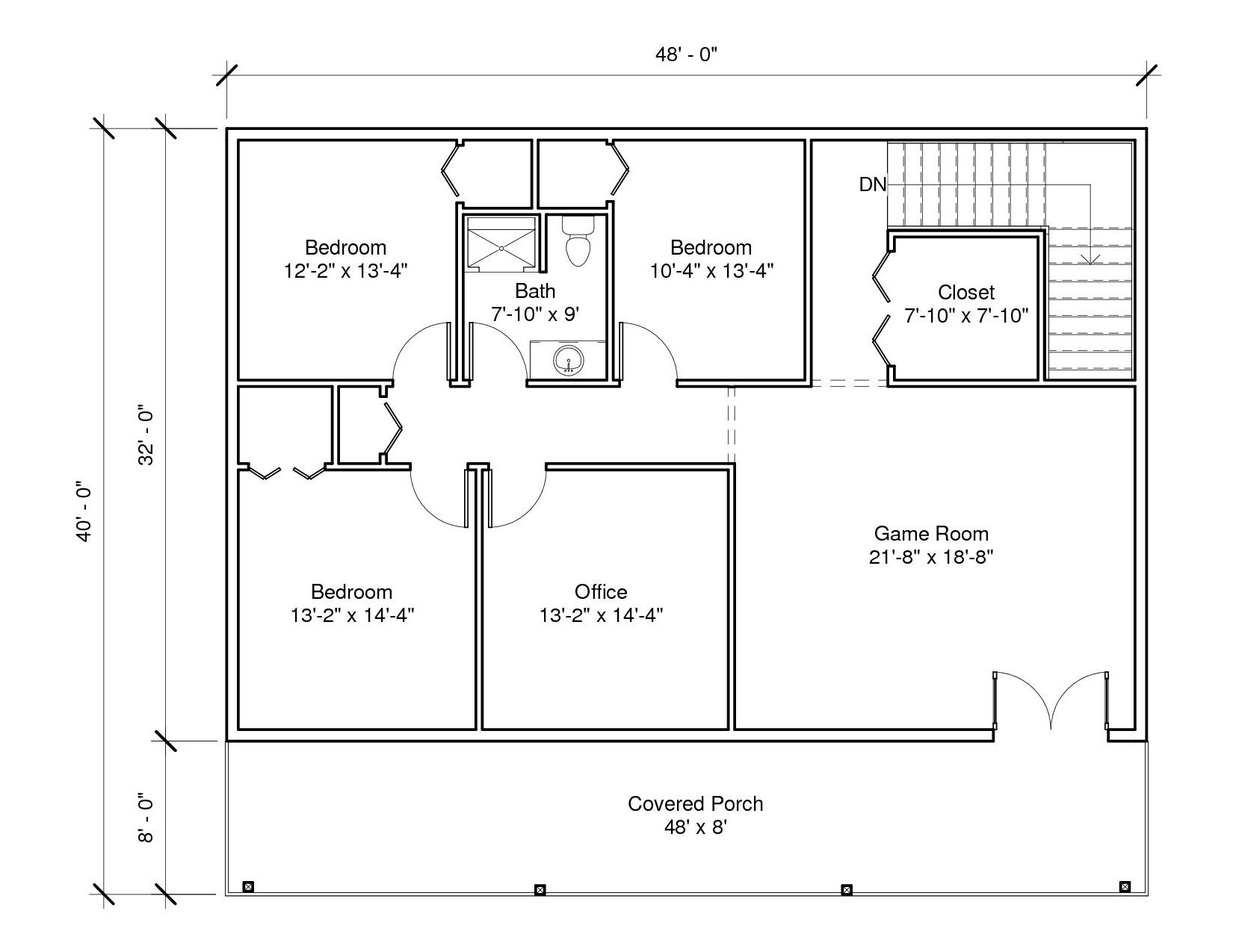 Savannah 1A 2nd Floor Plan