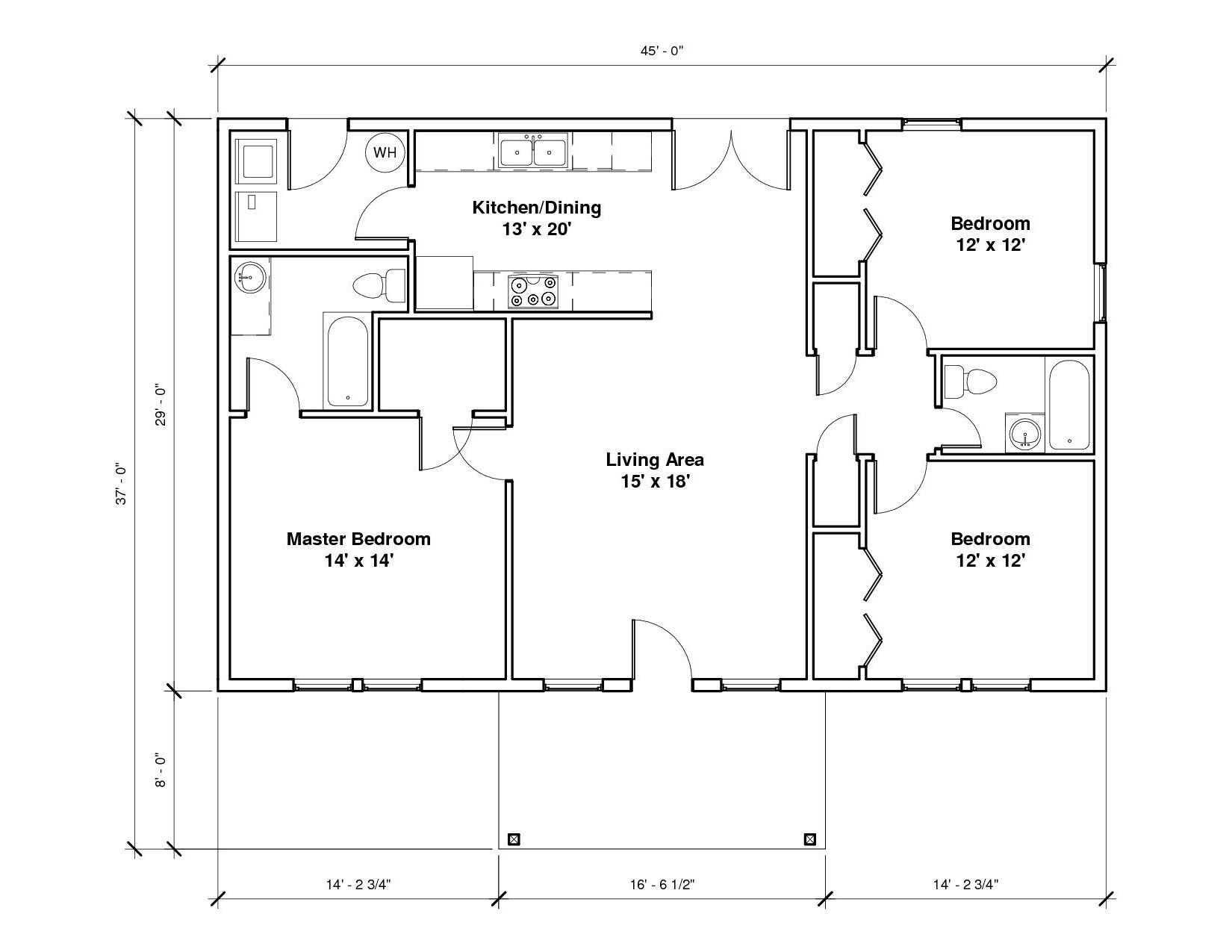 Southridge 1A Floor Plan