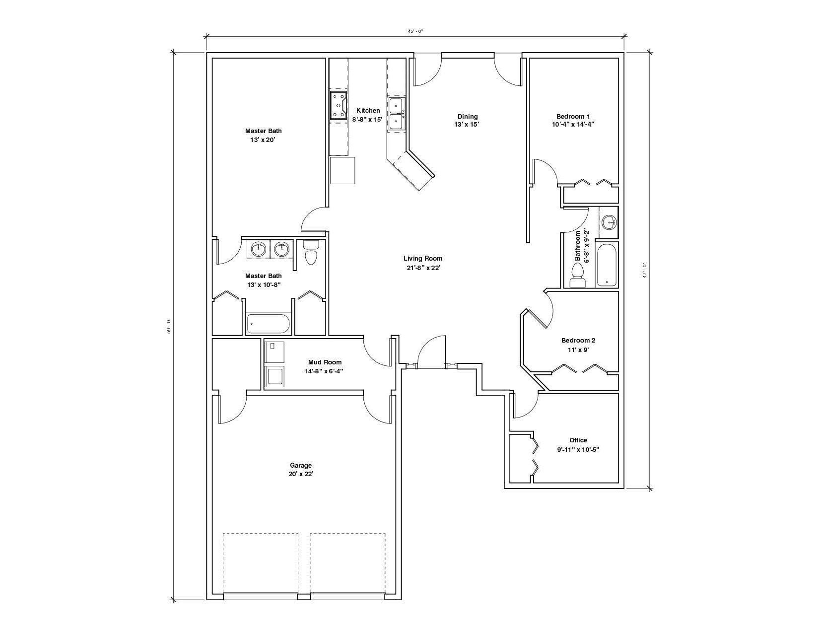 Springhill A Floor Plan