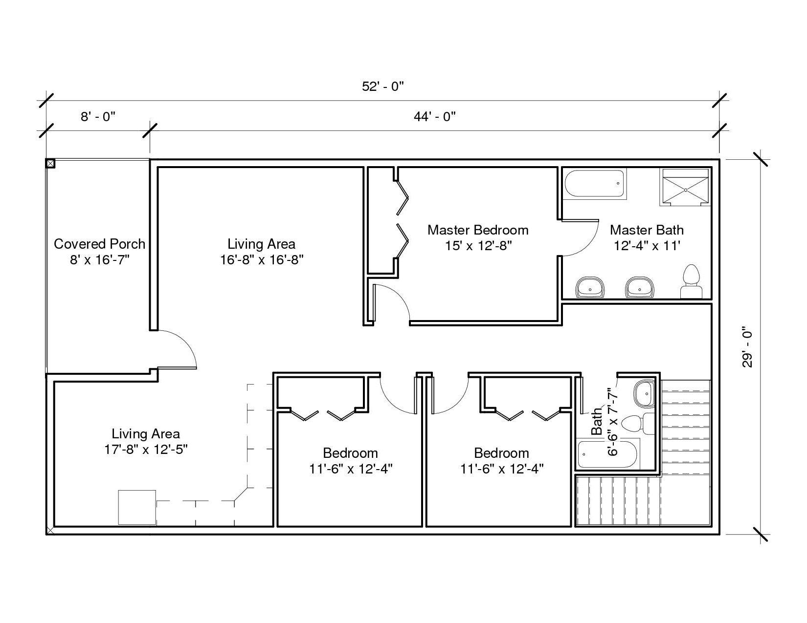 Studio Garage 2A 2nd Floor Plan