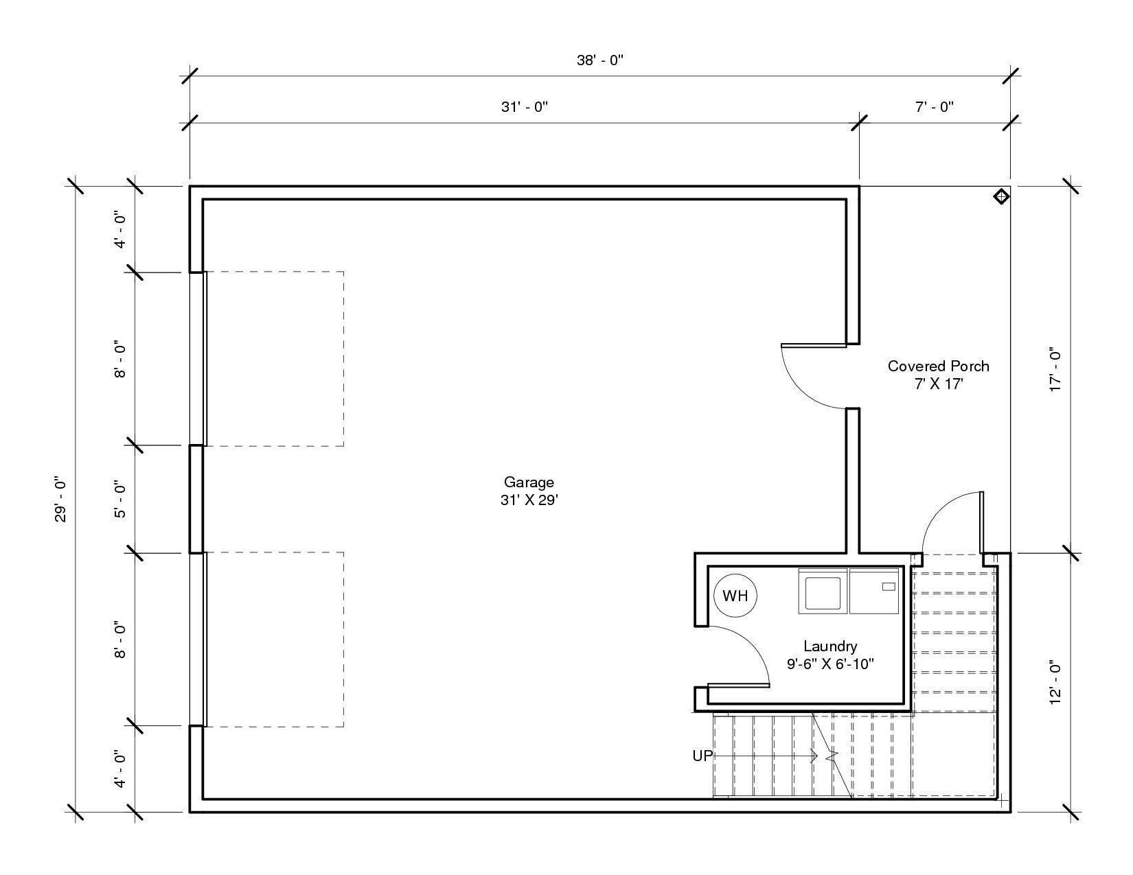 Studio Garage1A 1st Floor1 Plan