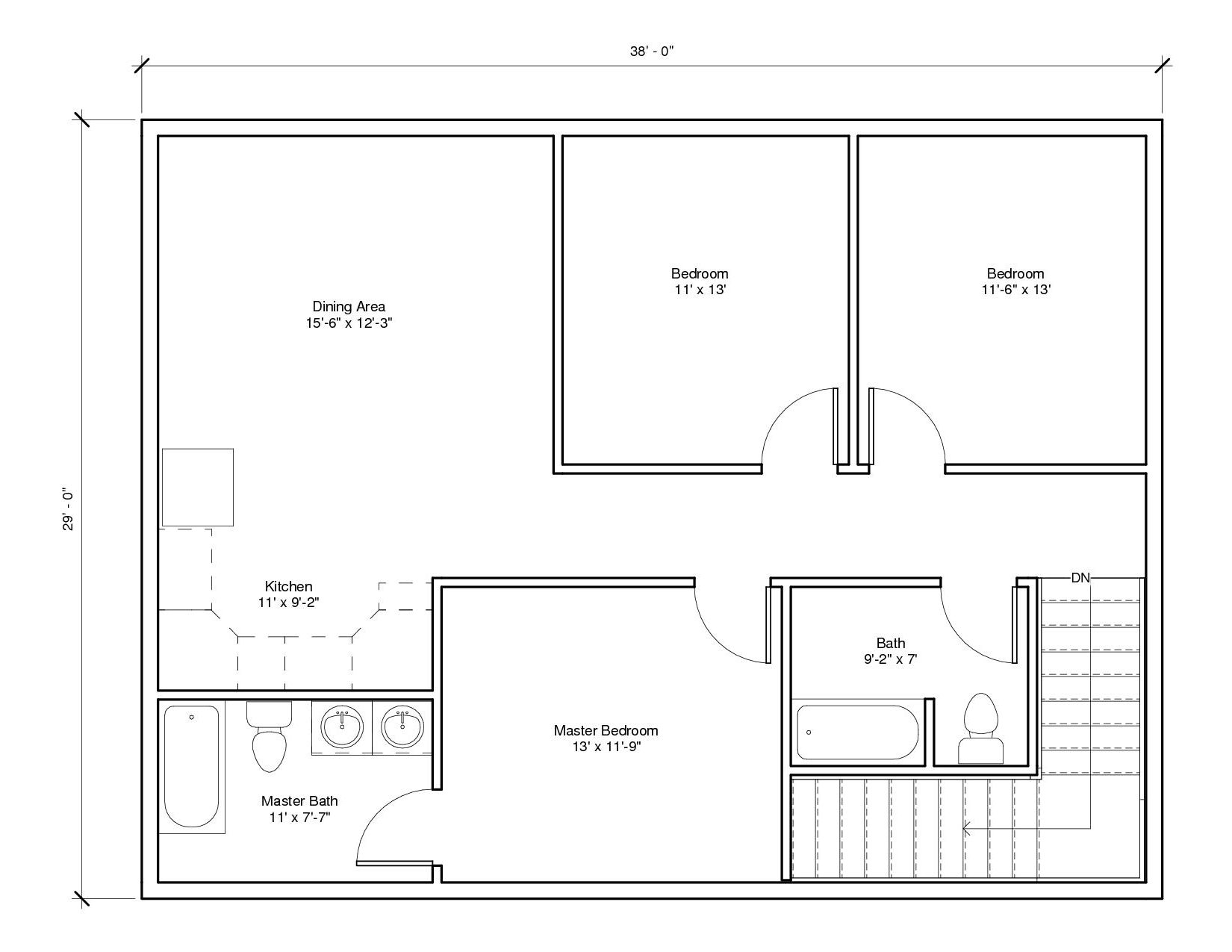 Studio Garage1A 2nd Floor1 Plan