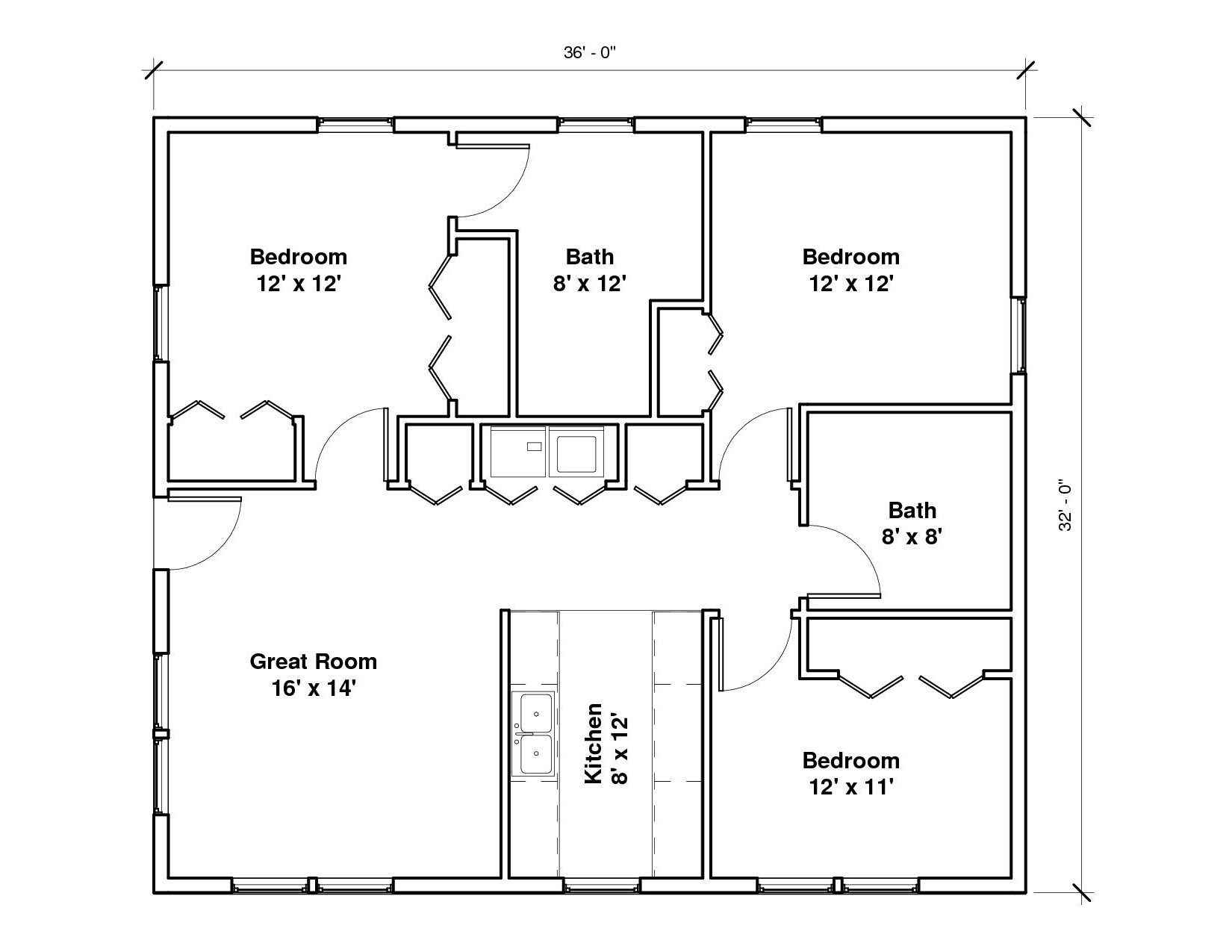 Windmaster Bayside 1A Floor Plan