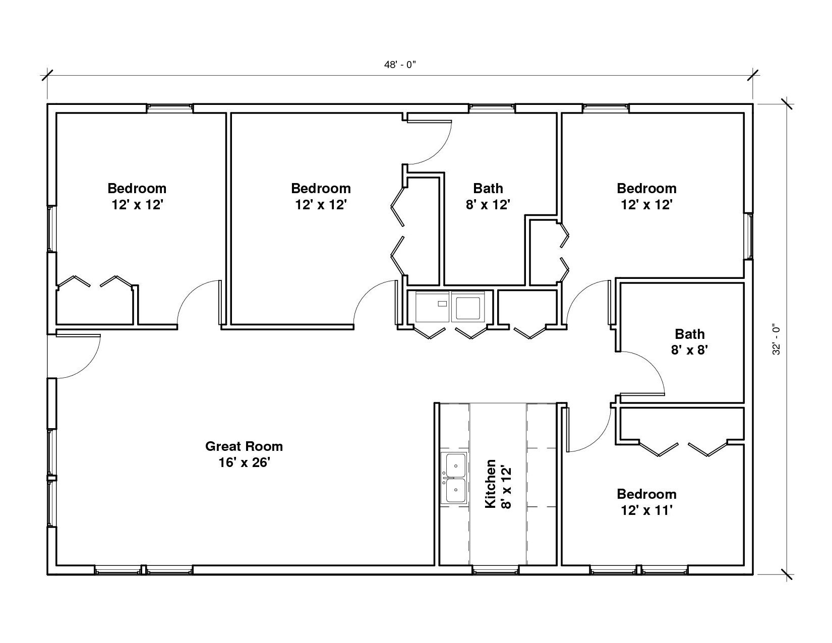 Windmaster Bayside 2A Floor Plan